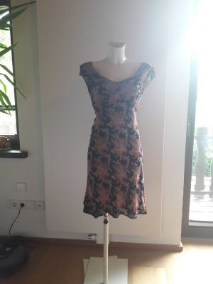Vintage Babydoll Dress multicolored