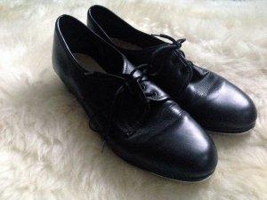 Vintage Booties , Leder, Gr. 39