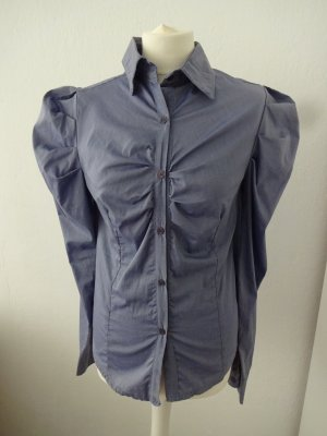 vintage boutique Bluse puffärmel raffung feminin
