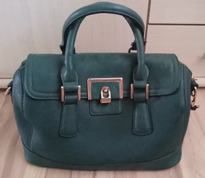 Vintage Bowling Bag in Gold'n'Green