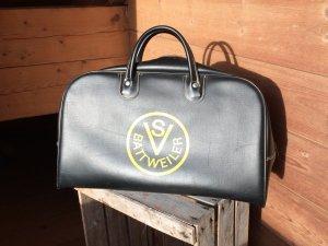 Vintage Bowling Bag in Schwarz
