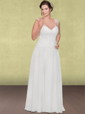 Vintage Brautkleid in Ivory