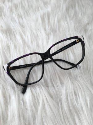 Vintage Brille • Brillengestell schwarz