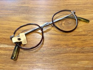Vintage Brille, Hornmuster, Brillenmanufaktur, 20/30er Jahre