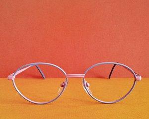 Bril rosé-azuur