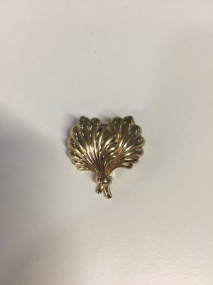 Christian Dior Brooch gold-colored metal