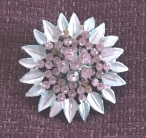 Swarovski Brooch multicolored