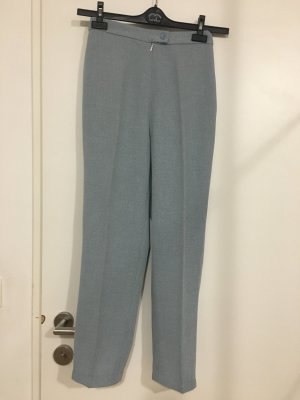Pleated Trousers pale blue-slate-gray