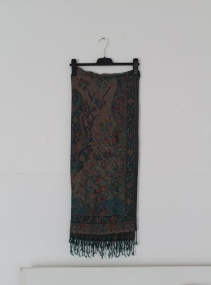 Vintage bunter, weicher, großer Schal
