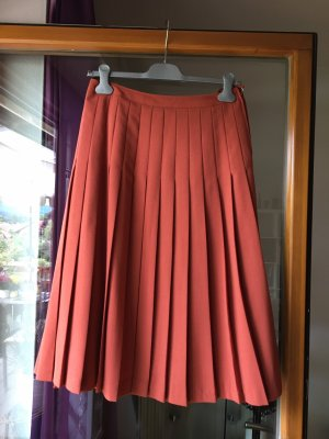 Heinzelmann Plooirok roodbruin-oranje