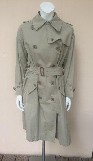 Vintage Burberry Trenchcoat Gr.38/40 Baumwolle Beige Muster Karo Brit-Chic