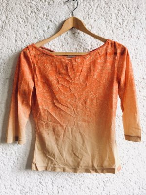 Vintage Calvin Klein Ombre See through mesh Shirt