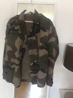 Vintage Camouflage Jacke