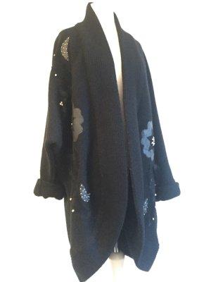 Vintage Cardigan: Oversize Strickjacke