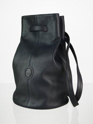 Vintage Carla Sade Leder Beuteltasche Bucket Bag