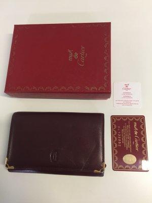 Vintage Cartier Geldbörse mit Box