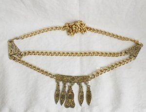 Vintage Chain Belt gold-colored