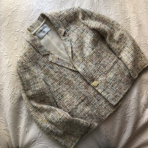 Vintage Chanel Tweed Blazer in Pastell