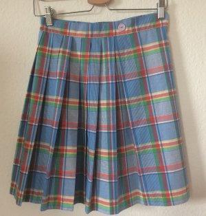 Vintage Check Summer Wrap Skirt