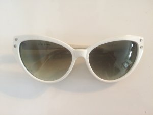 Chloé Sunglasses white-dark green synthetic material