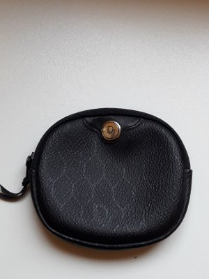 Christian Dior Portemonnee zwart-goud