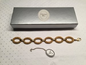 Christian Dior Braccialetto sottile oro Metallo