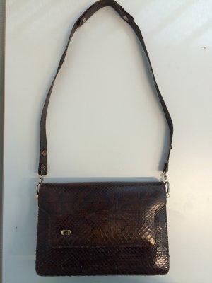 Vintage Christian Dior Handtasche aus Schlangenleder