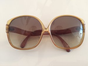 Dior Sunglasses cream-gold orange synthetic material