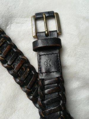 Calvin Klein Cintura bronzo-marrone scuro Pelle