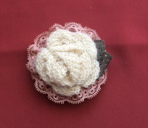 Vintage Clip for Hair or Scarf