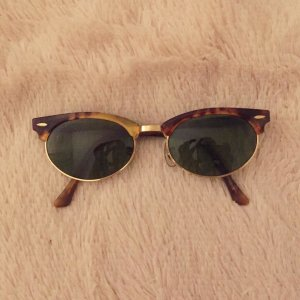 Vintage 'Clubmaster' tortoise shell