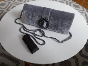 Vintage Clutch/Handtasche aus Samt