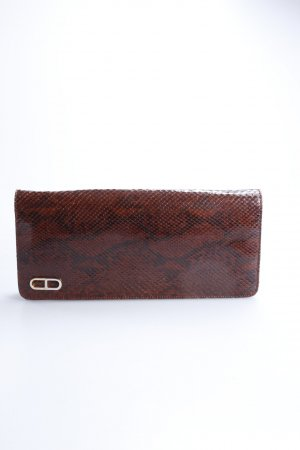 Vintage Clutch Schlangenleder-Optik
