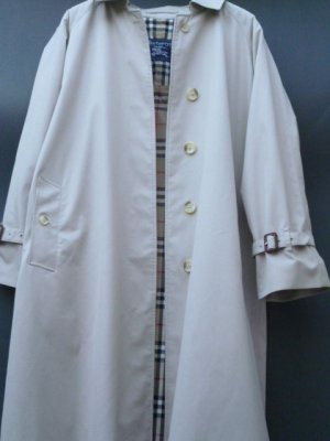 Burberry London Trench beige Cotone