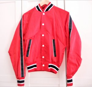 College jack rood Polyester