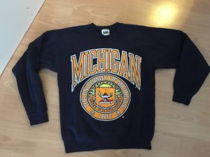 Vintage College Sweatshirt oversized