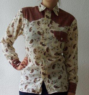 Vintage Cowboyhemd mit Paisley
