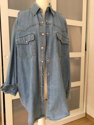 Vintage Denim Hemd Oversize