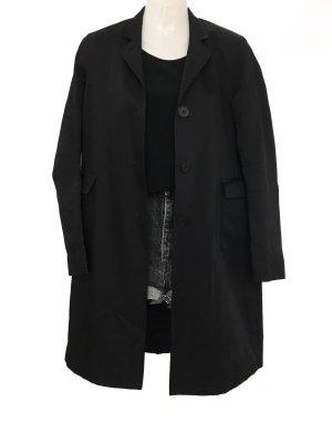 Vintage Designer Jil Sander Trench Coat Mantel Clean Minimal Chic Blogger Style Trenchcoat