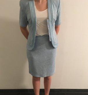 Joseph Ribkoff Damespak azuur-babyblauw Gemengd weefsel