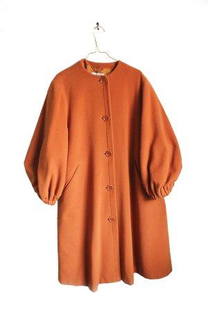 Vintage Designer Oversized Minimalistic Lambswool Coat