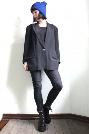 Vintage Designer Silk dkny Evening Glam Jacket
