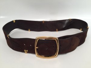 """Vintage Designer-Taillengürtel """"Sepcoeur France"""" Gr.90"""
