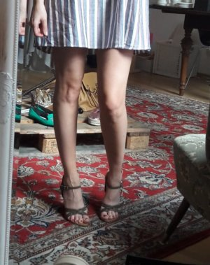 Vintage Dior Gaucho Sandale Sandalette Keilabsatz Blockabsatz Kork Boho 40,5