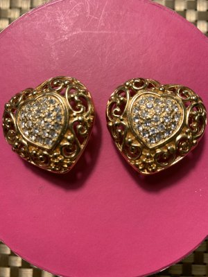 Christian Dior Earclip gold-colored