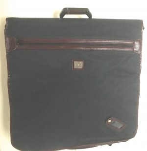 Dior Suit Bag cadet blue-bordeaux mixture fibre