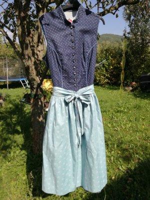 Salzburger Dirndl Dirndl azzurro-blu