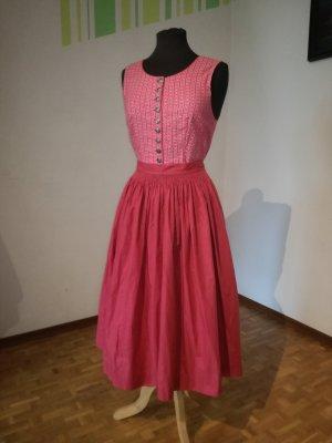 Vintage Dirndl, Trachtenkleid, Kleid mit Schürze