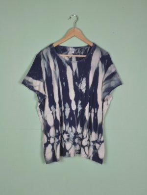 Vintage Camisa batik multicolor