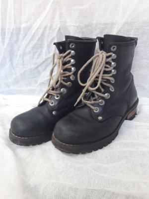 Vintage Dockers Stiefel Boots Stiefeletten Schnürrstiefel 36